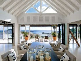 Beautifully Seaside / formerly Chic Coastal Living: Chic Dining Room