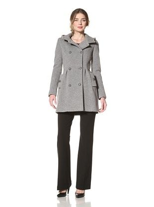 Thakoon Women's Knit Hooded Coat