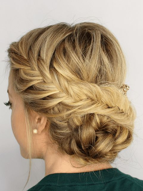 677 best #Hairstyle images on Pinterest | Bridal hairstyles, Easy ...