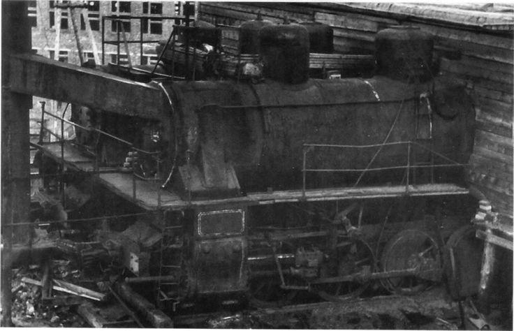Работа паровозов серии Э в системе ГуЛАГа