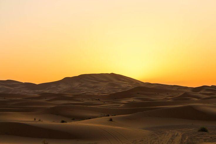A Sahara Desert Sunrise [OC] [5184  3456]