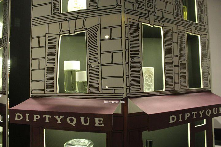 Diptique windows at Bond street, London » Retail Design Blog