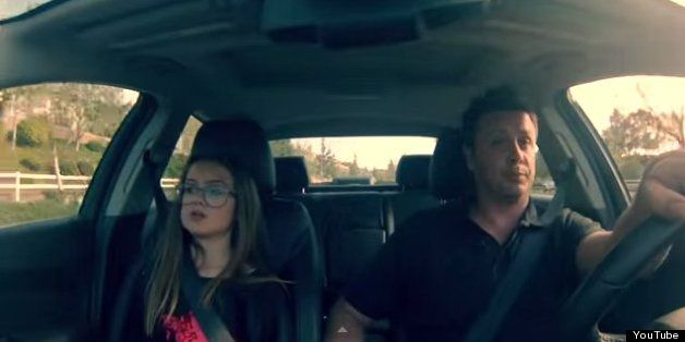 "Father & Daughter lip syncing to Iggy's ""Fancy"" - Just made my day"