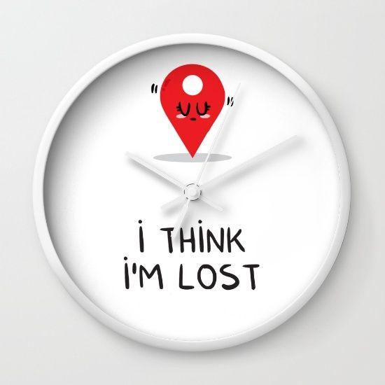 I think I'm lost Wall Clock