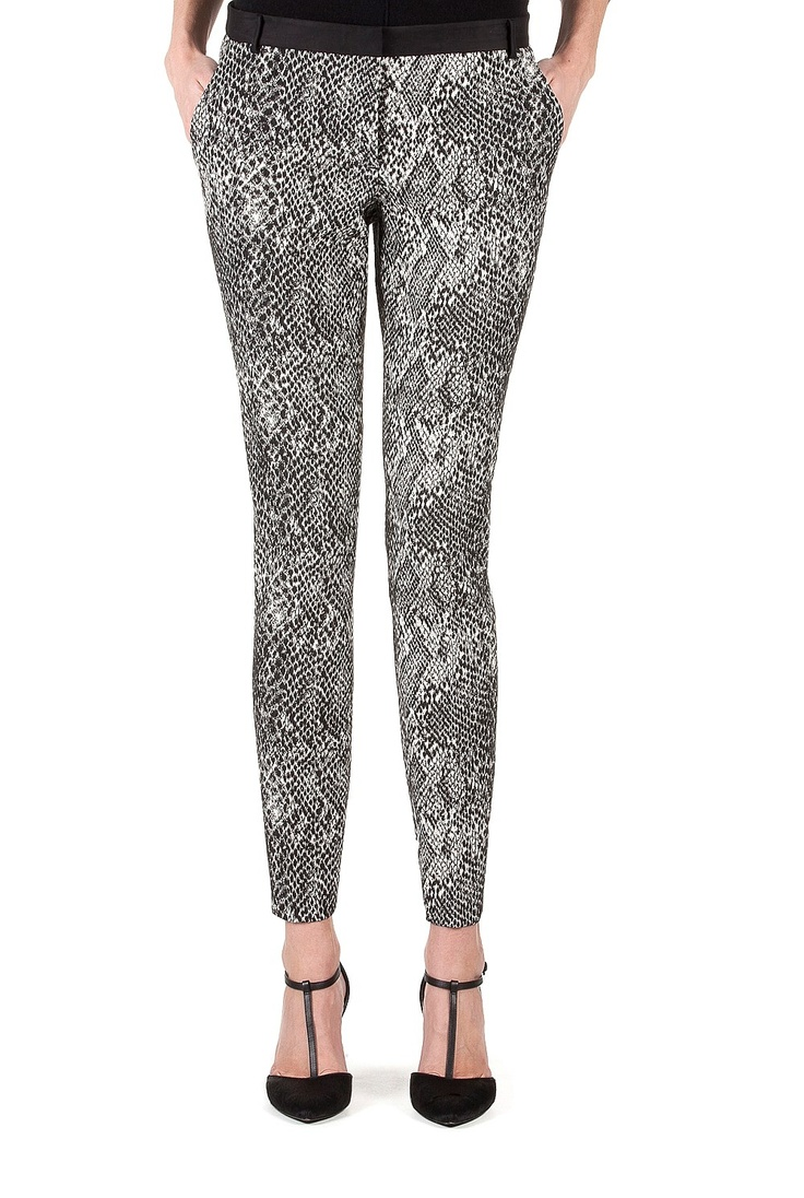Country Road-Last Chance - Jacquard Snake Print Pant