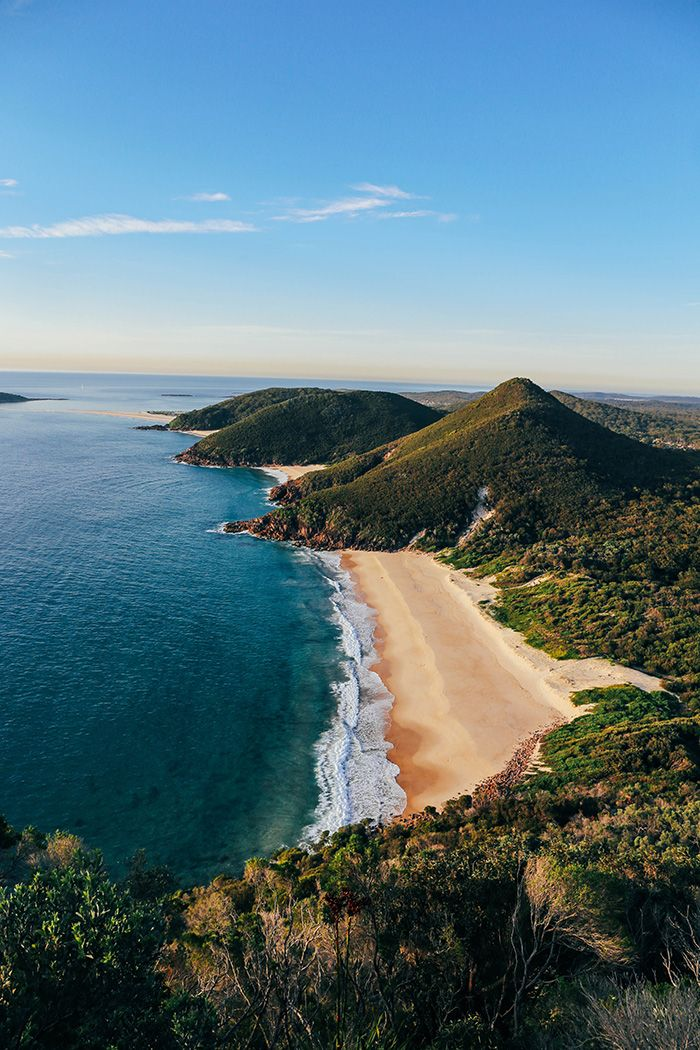 Port Stephens Zenith Beach Tomaree Head lookout