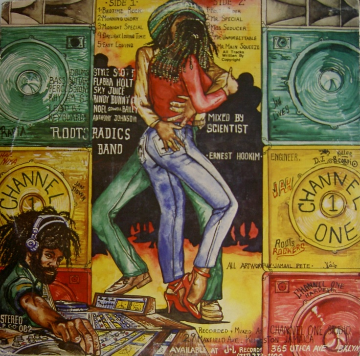 Vinyl Sleeve Roots Radics Dub - Mixed by Scientist