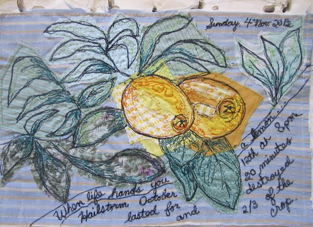 MulticoloredPieces: Textile Sketchbook