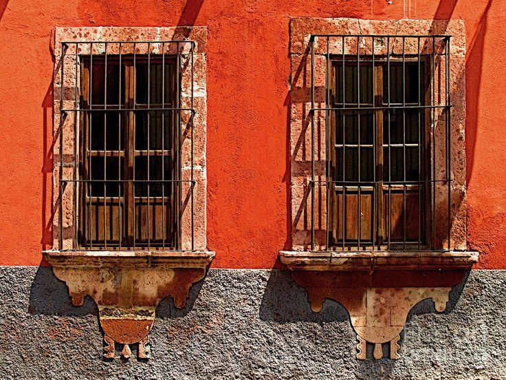 Ventanas Naranjas by Olden Mexico