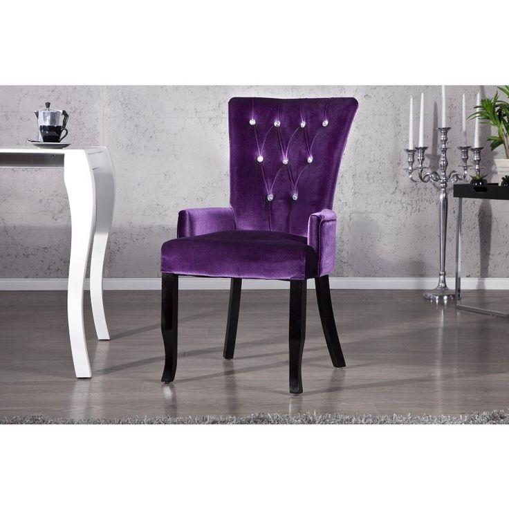 Moderne stoel Boutique lila - 12883