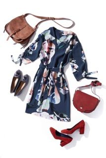 50 plus style - flattering dresses