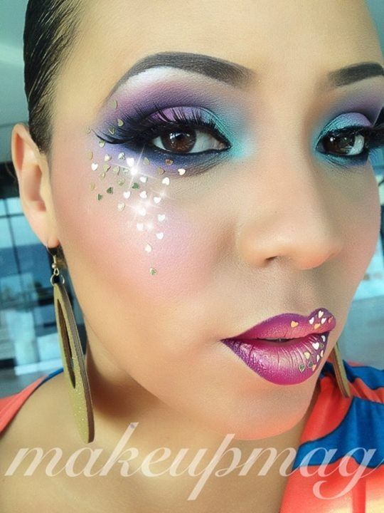 55 Best Images About Crazy Makeup On Pinterest