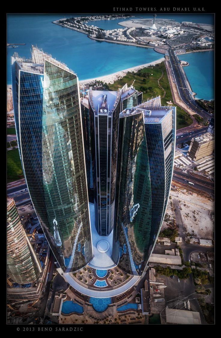 Etihad Towers by Beno Saradzic on 500px