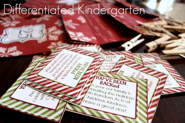 Our favorite family tradition . . .25 Days of Christmas Kindness. Free printables to start your own classroom kindness for the holidays.