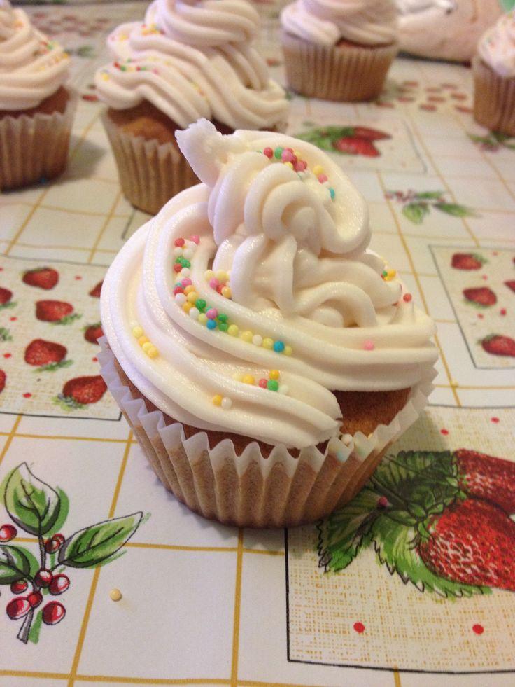 Cupcake cannella e arancia
