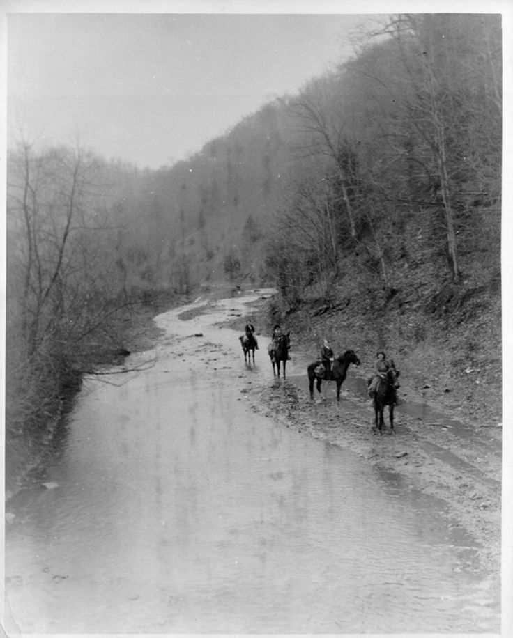 Works Progress Administration created the Pack Horse Library Initiative in the 1930's to get books to rural communities.