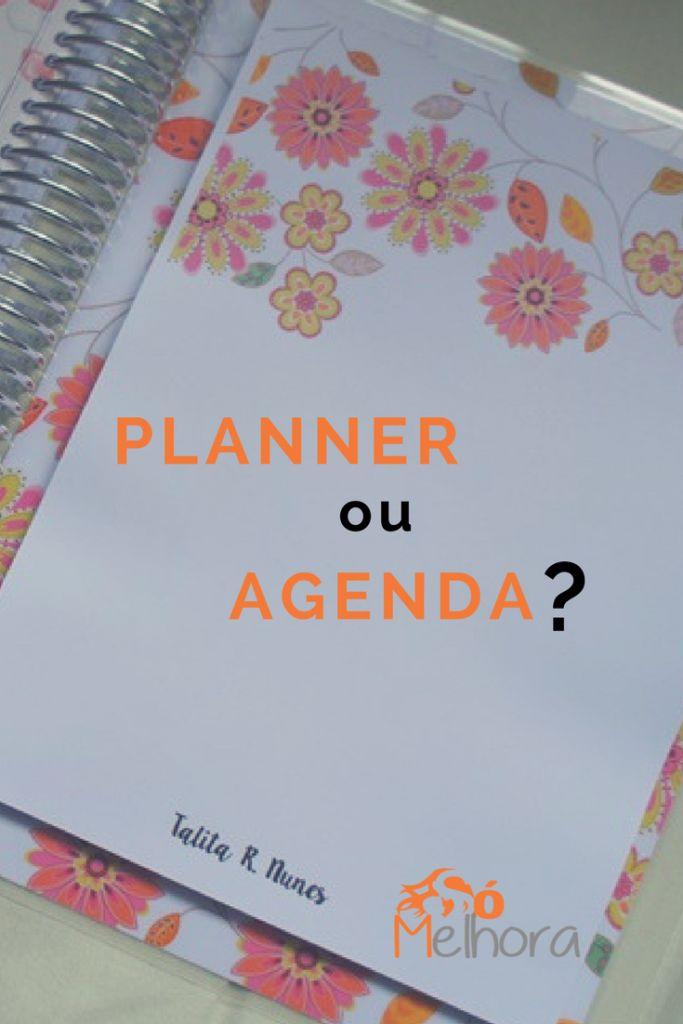 Alguns pontos para te ajudar a decidir como se organizar e investir teu dinheiro: num planner ou numa agenda? Os objetivos de uso é que devem pesar na hora da escolha. Vem conferir! Planner ou agenda | Organização de vida | Planejamento pessoal #planner