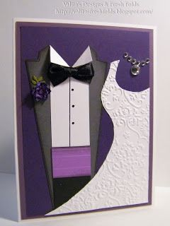 Valita's Designs & Fresh Folds: Wedding Dressed