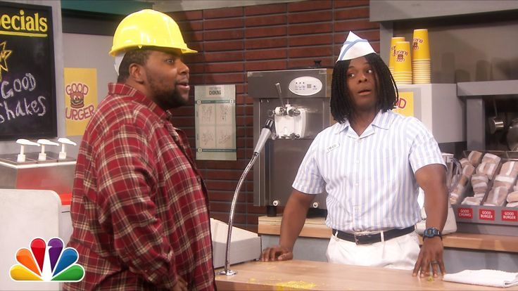 Jimmy Fallon Hosts a 'Good Burger' Reunion With Kenan Thompson and Kel Mitchell