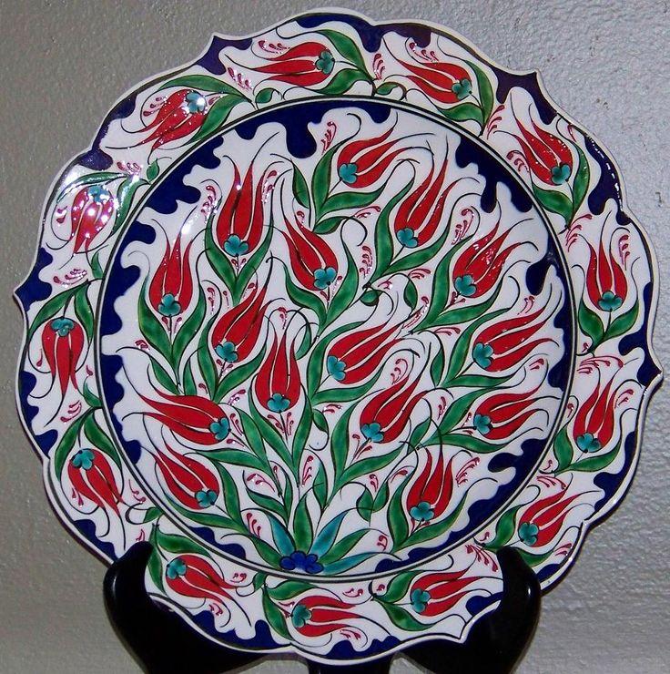 Iznik Tulip Plate
