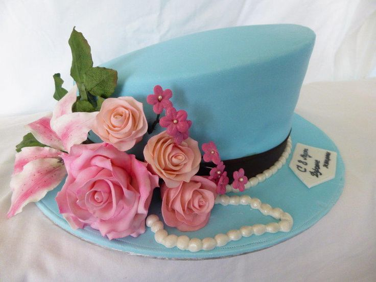 The Hat Cake Just picture, no recipe