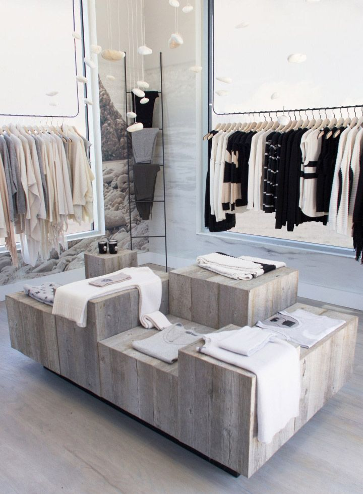Store Design Ideas retail store seed has new monochromatic design indesign live indesignlive ms 360 Cashmere Skull Cashmere Retail Store By 30 Collins Malibu California Retail