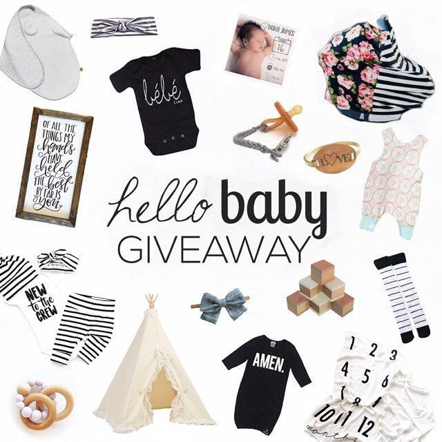 NEXT........ @handcraftedbrunette We've teamed up with some amazing shops and mom bloggers to bring you this bundle filled with our Hello Baby favorites  Over $500 in prizes will go to ONE lucky winner!  To enter just - 1. Like this photo & be following us 2. Head to @handcraftedbrunette 3. Follow 1-2 steps until you get back here  BONUS: Tell us your favorite baby name   That's it!! Good luck!  Promotion will end on Friday June 2 at 11:59 PM EST. Winner will be announced within 48 hours…