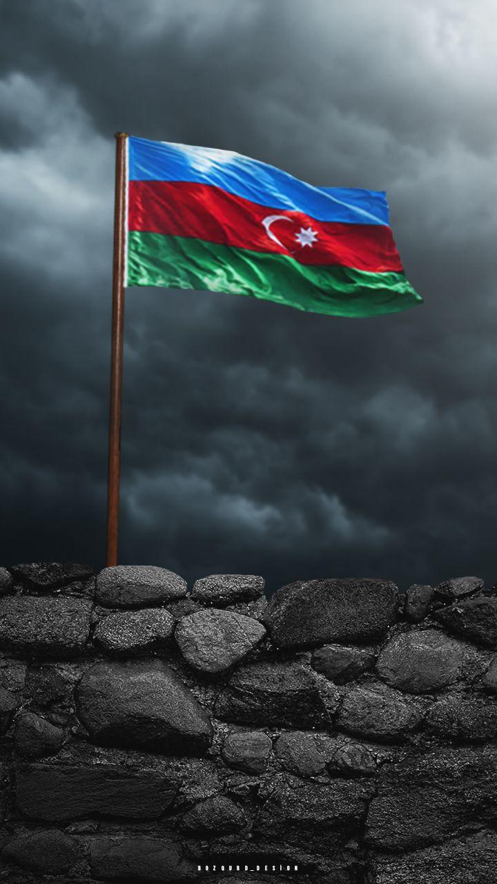 4k Hd Azərbaycan Bayragi Divar Kagizi Bayraq Wallpaper Azerbaijan Flag Flag Drawing Girly Drawings