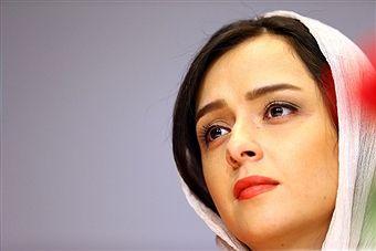 Actress Taraneh Alidoosti looks on during Director Asghar Farhadi and Actor Shahab Hosseini - Press Conference the on May 30, 2016 in Tehran, Iran.