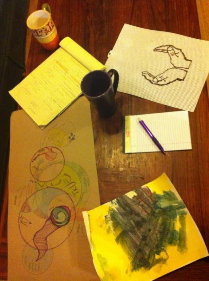 Good Art Therapy Blog - from the chair of Art Therapy at Southwestern College...scenes from Supervision