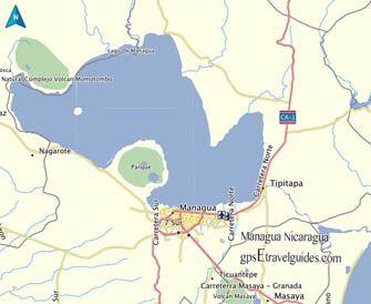 Best Garmin Nicaragua Map GPS Images On Pinterest Maps - Nicaragua location on world map