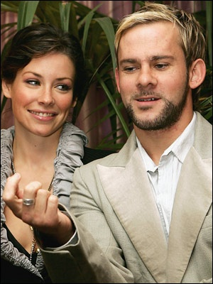 Dominic Monaghan And Evangeline Lilly 2013