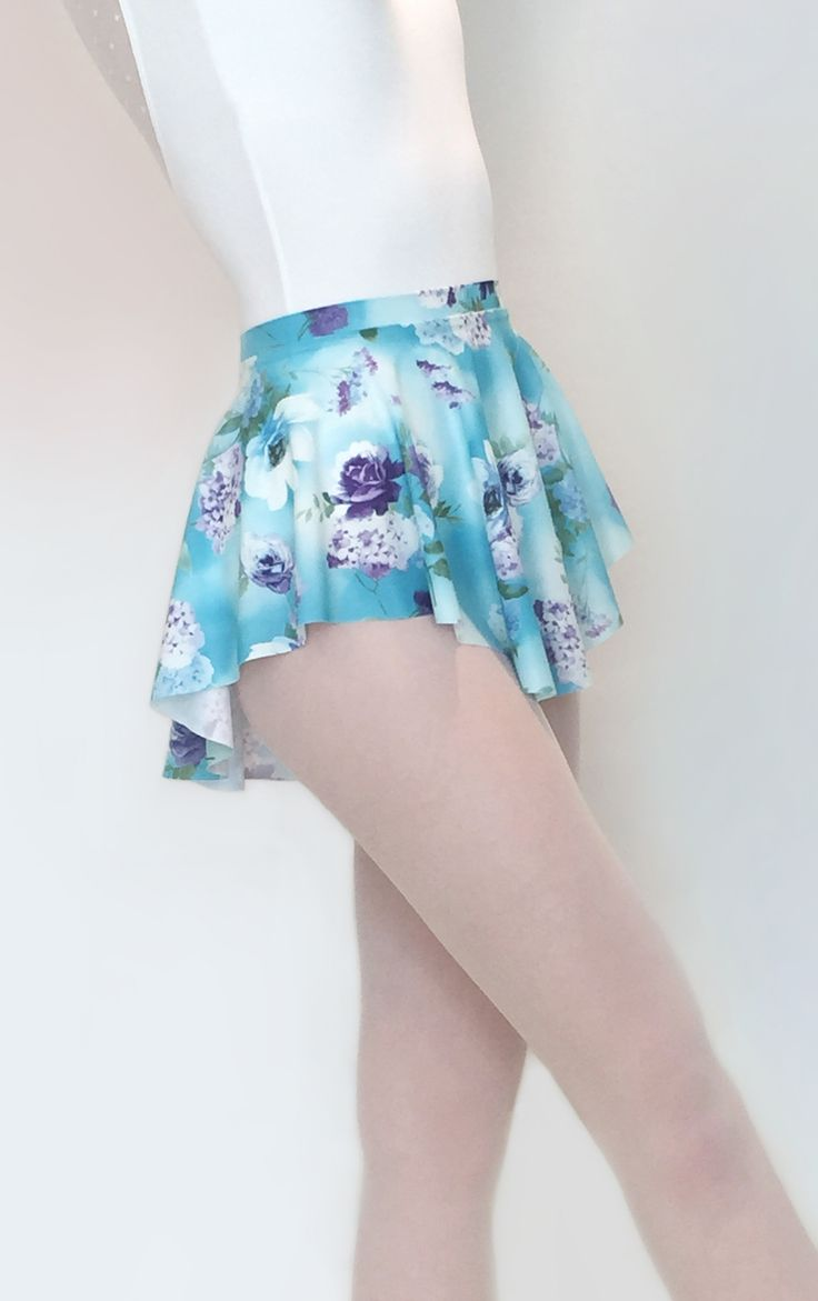 Beautiful spring floral ballet skirt from Royall Dancewear on Etsy