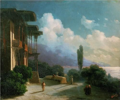 Night near Yalta - Ivan Aivazovsky