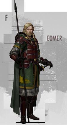 LOTR Online Eomer concept art