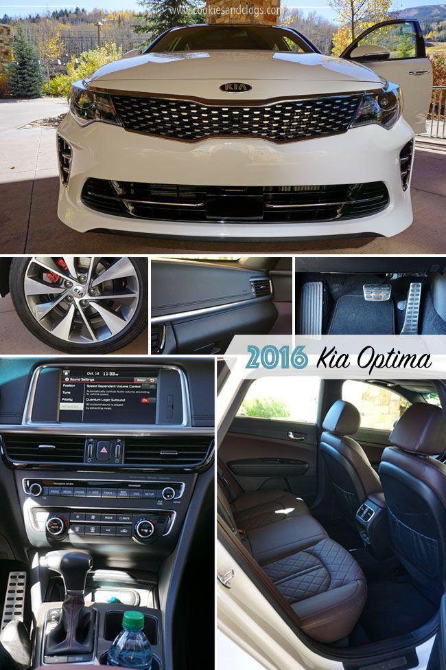 2016 Kia Optima Sporty Sensibility At All Trim Levels Kia Optima Kia Optima Turbo 2016 Kia Optima Lx