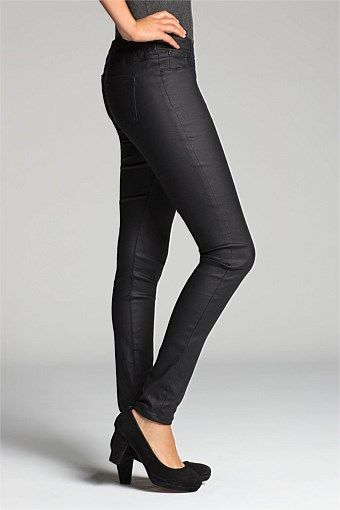Emerge Pants - Brands - Emerge The Pull-On Coated Jeans 108454. $64. Very comfy!