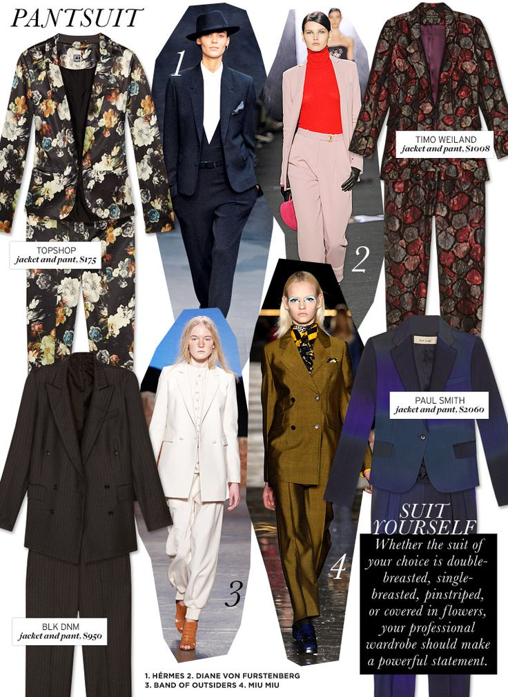 Who What Wear | Fall 2012 Trend Guide | Pantsuit