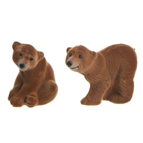 2 bruine beren ... - Verkocht per 12
