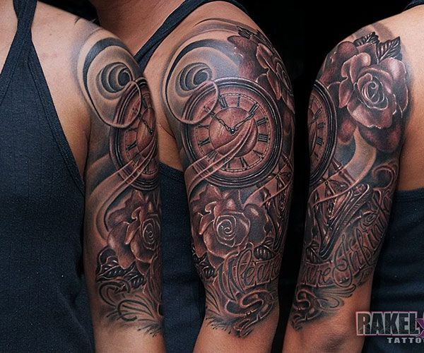 sleeve tattoos for men | ... sleeve Hold The Attention With These 26 Half Sleeve Tattoo Ideas