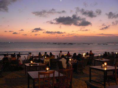 Uluwatu Sunset & Dinner Tour - Views  Dinner At Jimbaran Cafe