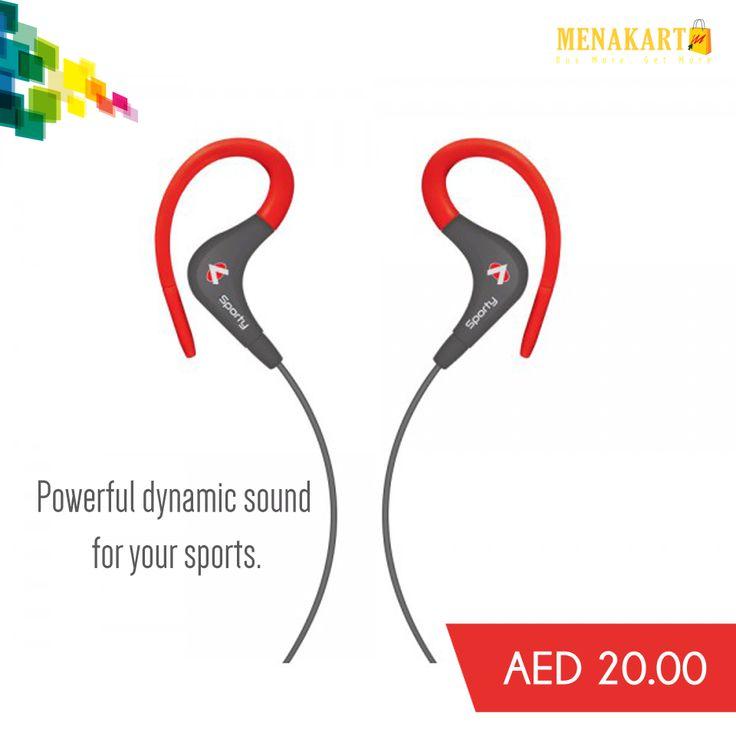 Audionic SE 40 Sporty Earphone #earphone #Bose #earbuds #music #sound #sportearphone #online #shopping #menakart