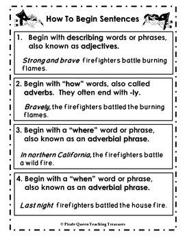 ways to begin a paragraph