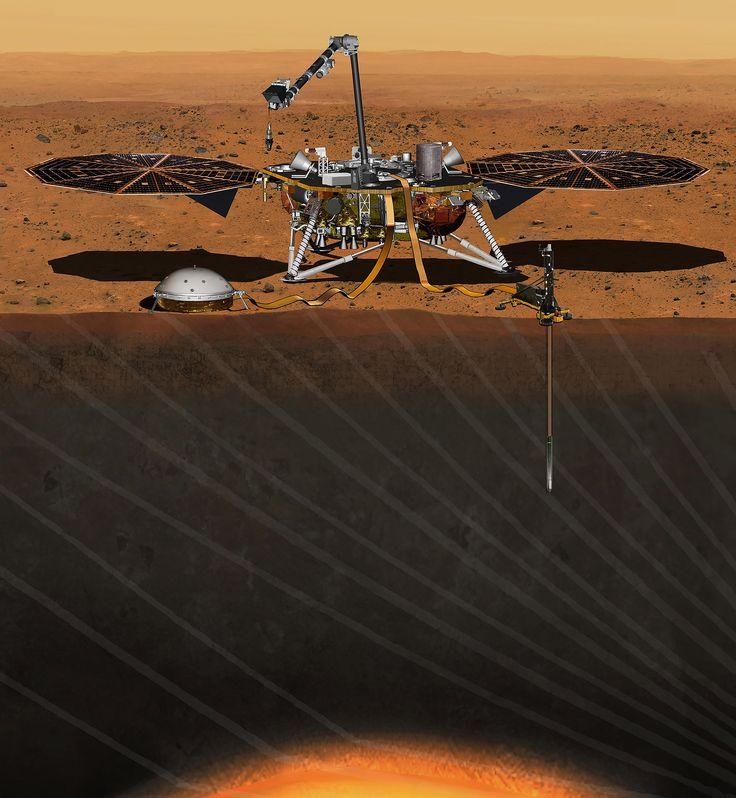 NASA планирует отправить «InSight» на Марс в мае 2018 года