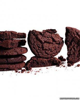 Giant Chocolate Sugar Cookies Recipe