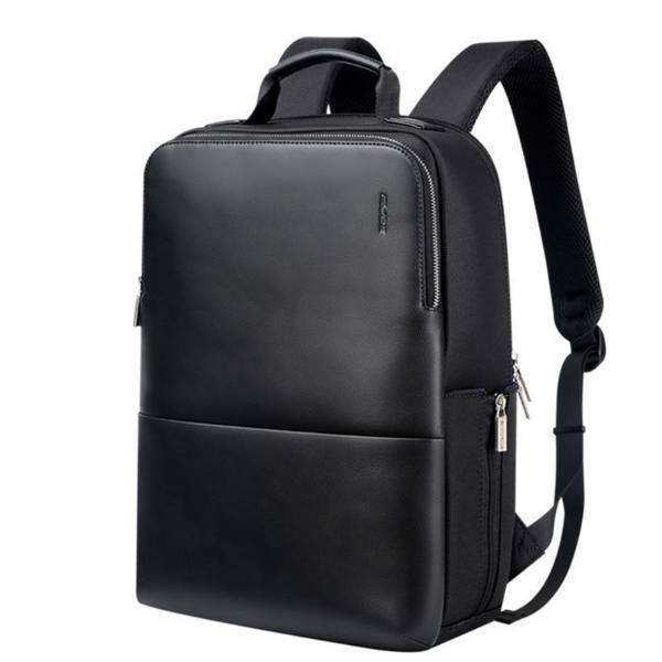 BOPAI Men's Travel Backpack Bravo Briefcase  Business Case School Laptop Bag