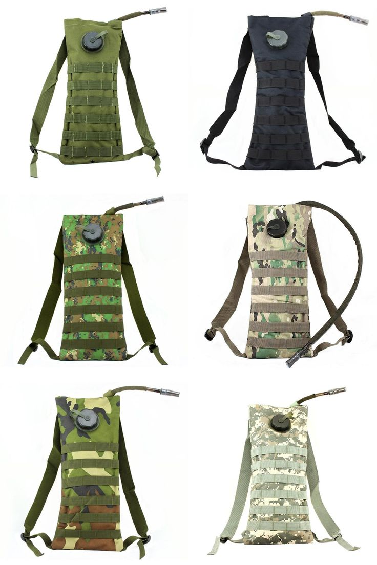 [Visit to Buy] MOLLE hydration system water bag OD Green multicam Woodland Camo acu bk tan Marpat Woodland #Advertisement