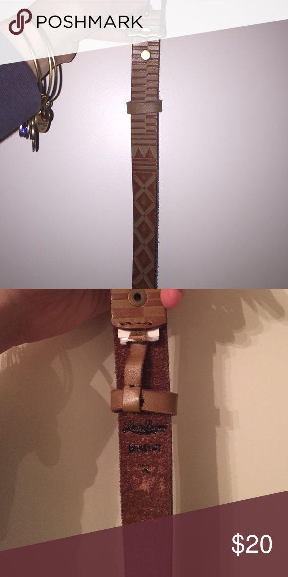 Aztec detail lucky brand belt Lucky brand belt. Aztec detail. Size 32. New! Lucky Brand Accessories Belts