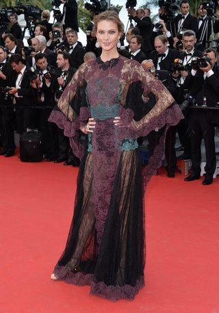 cérémonie d'ouverture du festival de cannes 2014 Laetitia Casta en robe haute couture Christian Dior de la collection printemps-été 2014 | Vogue