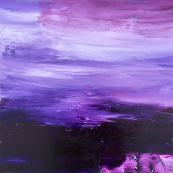 Purple Haze Large by angelabrisbaneart on Etsy